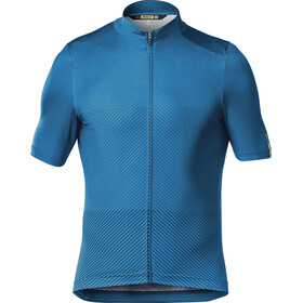 Mavic Cosmic Graphic Trikot Herren myconos blue